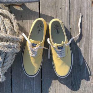 Yellow Sperry Sneakers