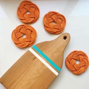 Knot Coasters Bouy Cutting Board