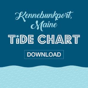 kennebunkport maine tide chart