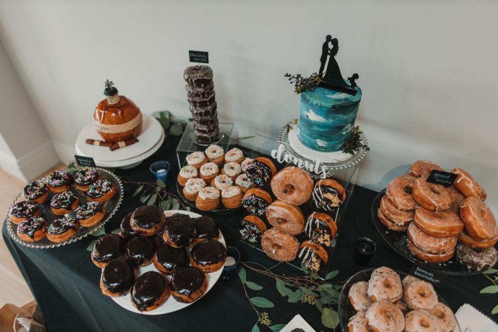 Seacoast Wedding | Lovebirds Donuts