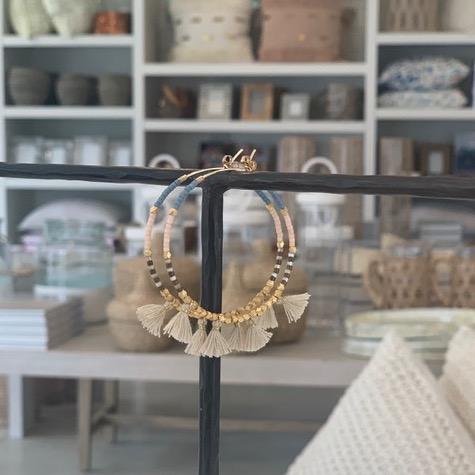 Tassle Earrings Spaces Kennebunk