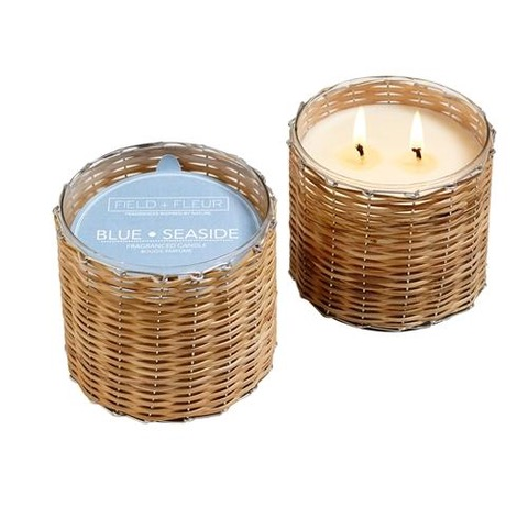 Handwoven Candles | Spaces Kennebunk