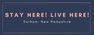 Lodging and Real Estate Durham New Hampshire