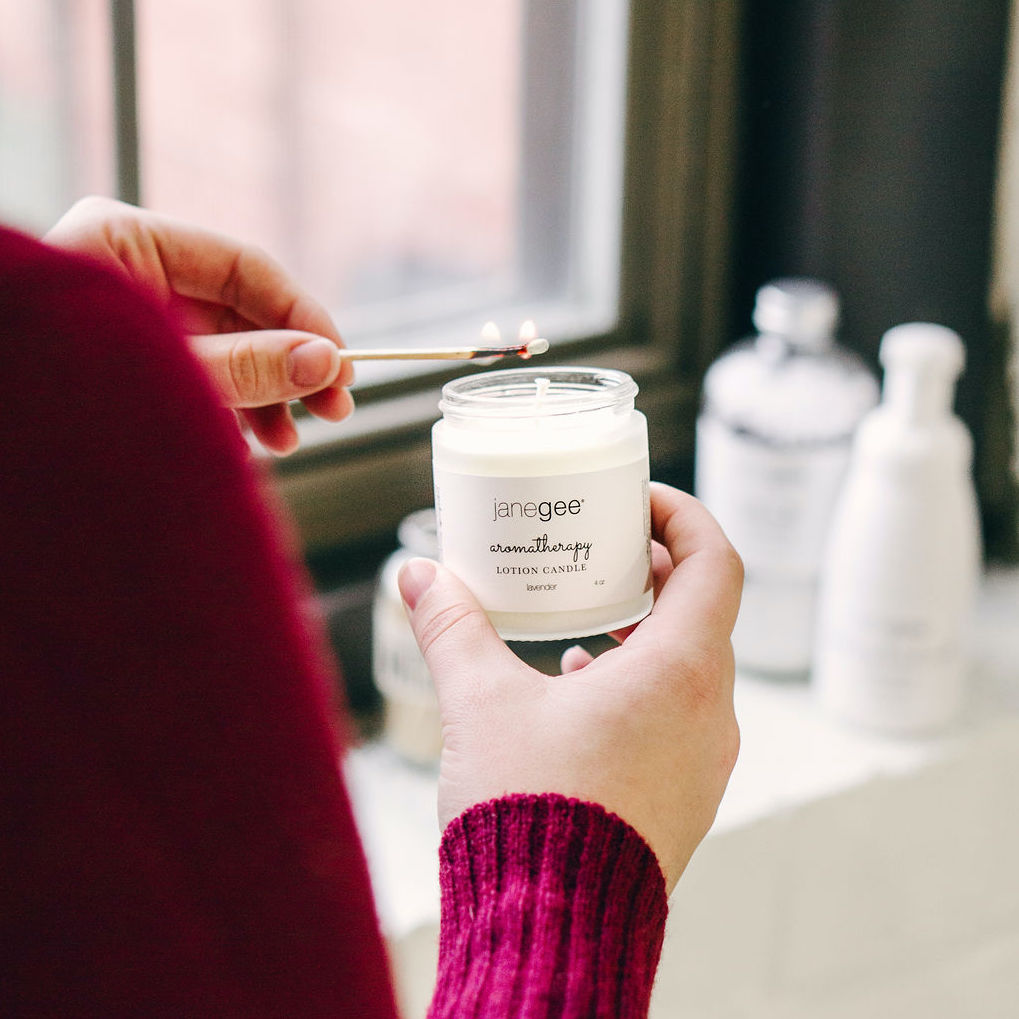 Janegee Lotion Candles Portsmouth NH