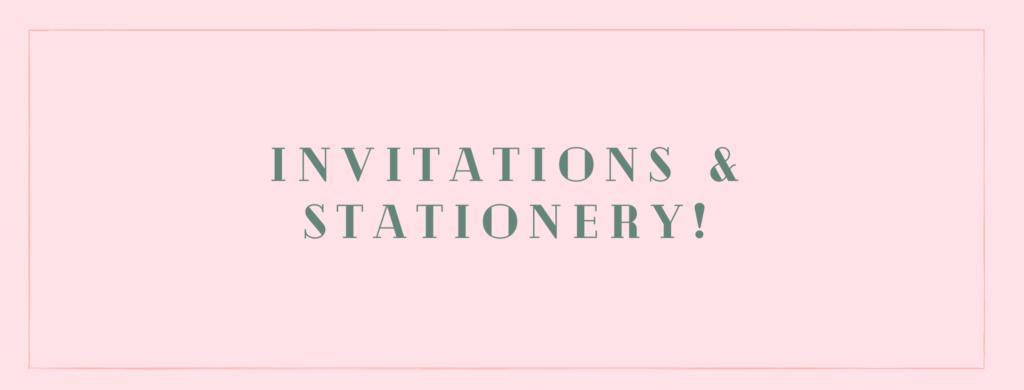 Seacoast Wedding Invitations and Stationery