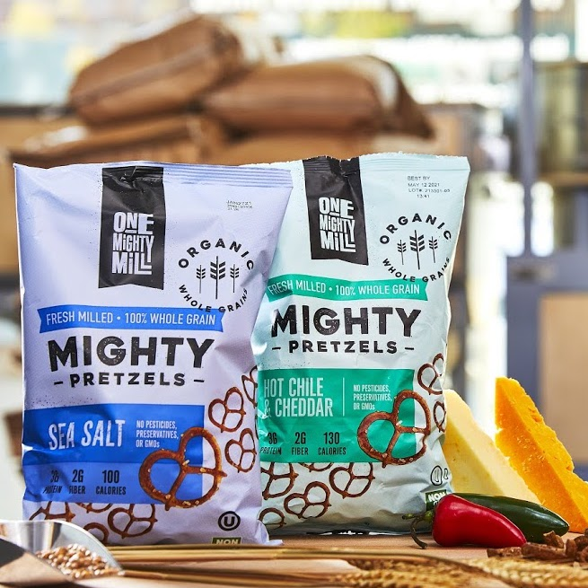 One Mighty Mill Pretzels